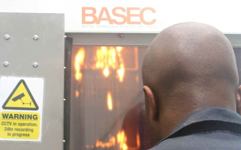 A CPR test being supervised at the BASEC laboratory | Basec Cpr